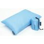 Cocoon Travel Pillow Down Fill 25x35cm light blue