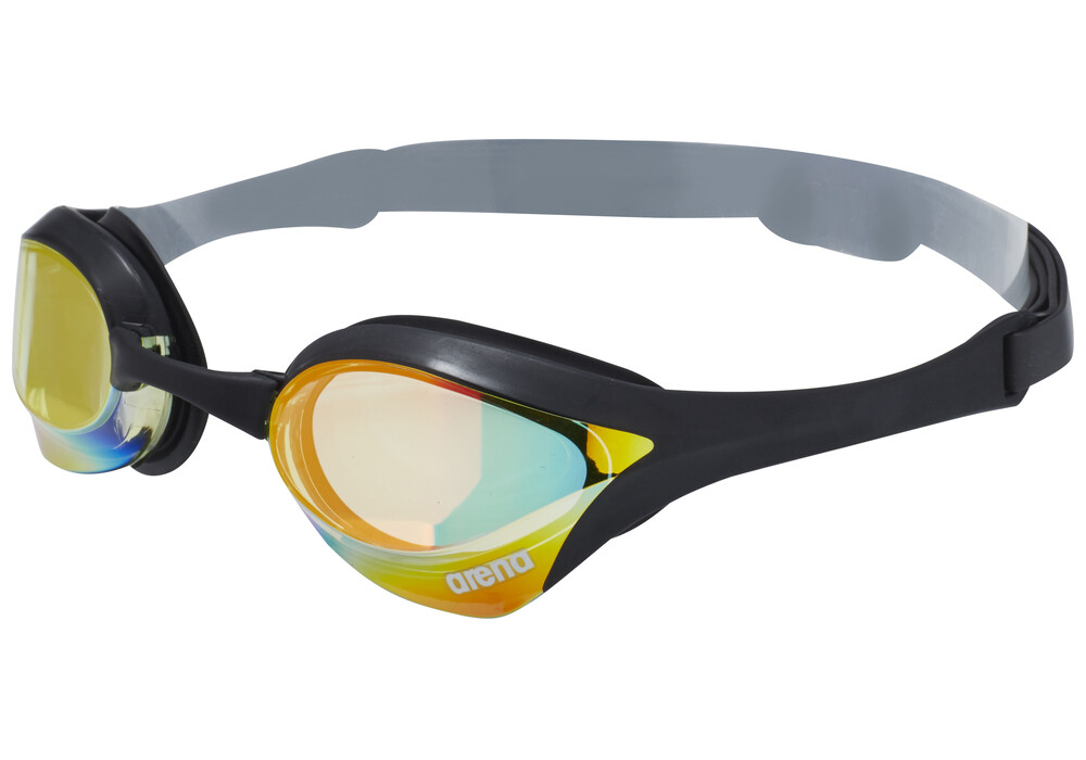 Arena Cobra Ultra Mirror Goggles Yellow Revo Black Black