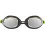 arena Spider Mirror Goggles Barn black-silver-green
