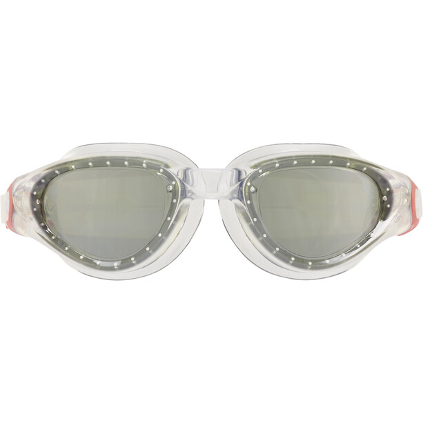 arena Cruiser Soft Brille clear-smoke-fluo red
