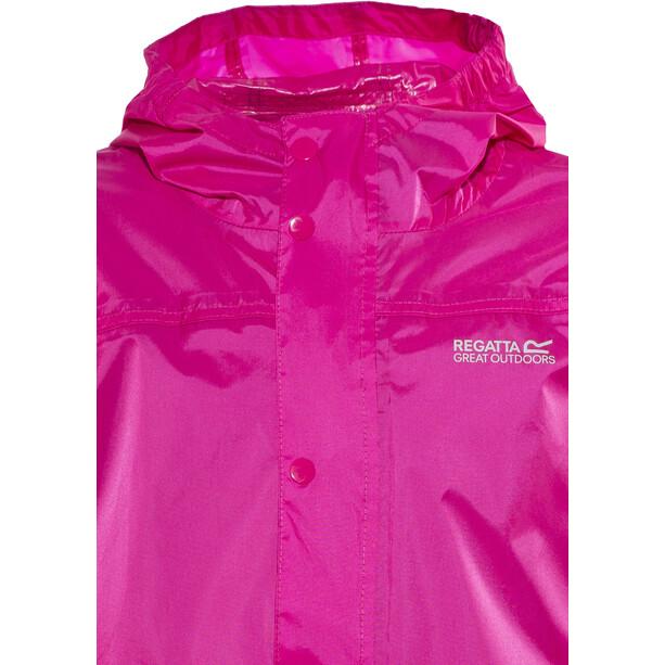 Regatta Pack-It II Sadetakki Lapset, vaaleanpunainen