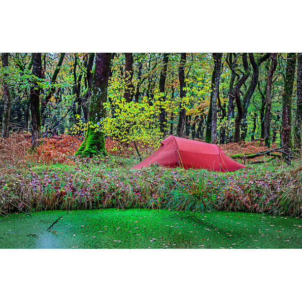 Nordisk Halland 2 Light Weight SI Tent burnt red
