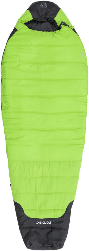 Nordisk Abel -2° Sleeping Bag XL peridot green/black links 2018 Kunstfaserschla