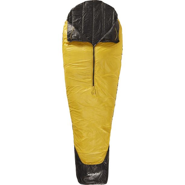 Nordisk Oscar +10° Schlafsack XL mustard yellow/black