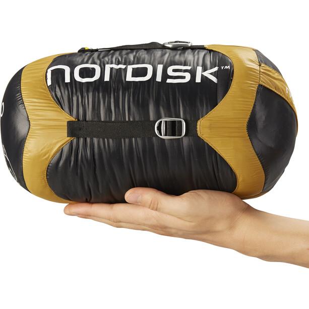 Nordisk Oscar -2° Schlafsack XL mustard yellow/black