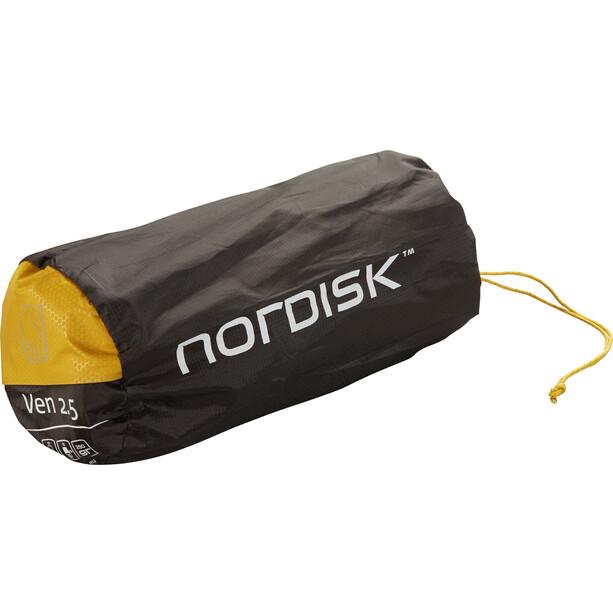 Nordisk Ven 2.5 Selbstaufblasende Matte mustard yellow/black