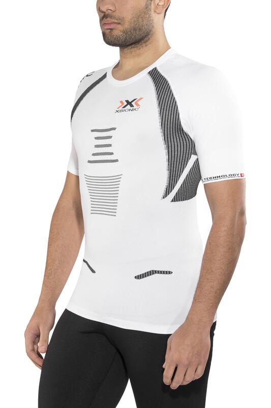 X-Bionic The Trick Running Shirt SS Men White/Black XL 2018 Kompressionsshirts