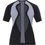 X-Bionic The Trick Running Shirt Kurzarm Damen black/white
