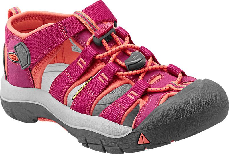Keen Newport H2 sandaler Barn Rosa/rød US 9   EU 25-26 2021 Sandaler