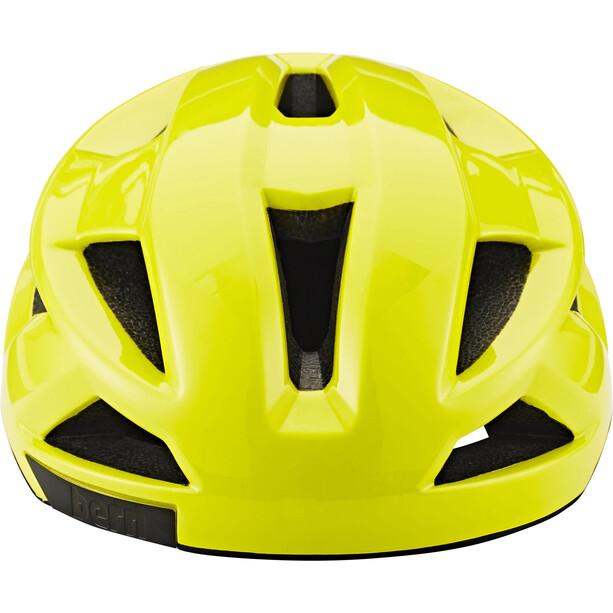 Bern FL-1 Casque, jaune