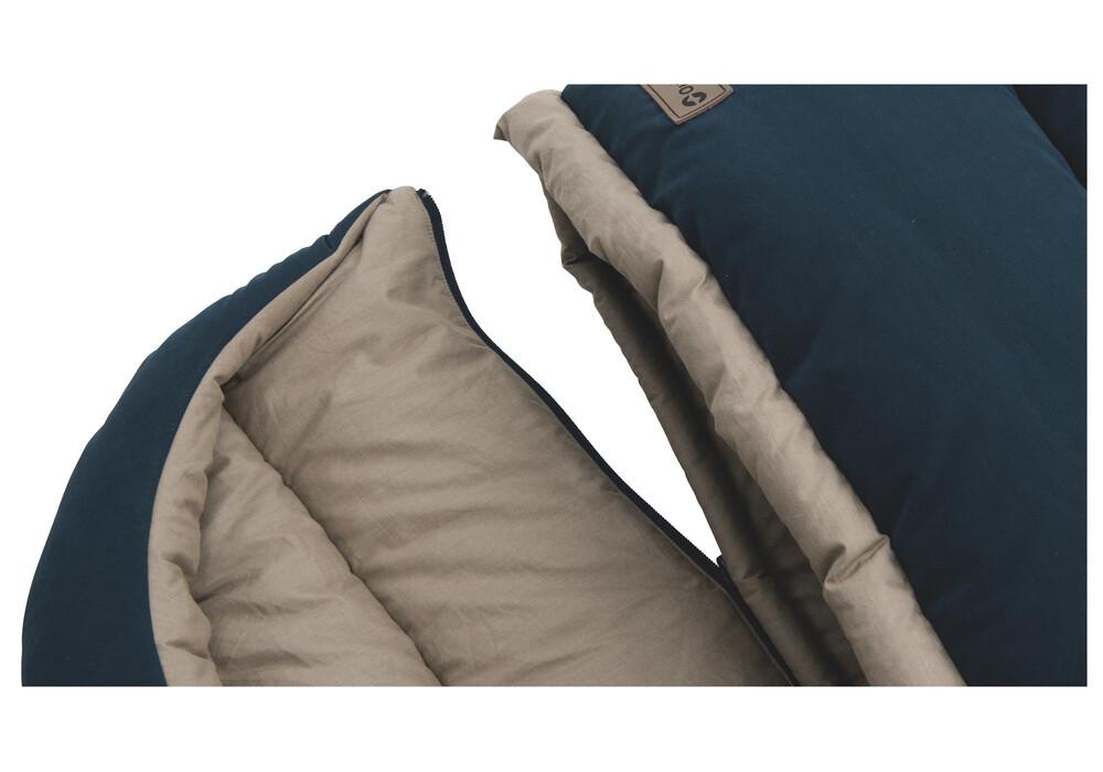 outwell constellation lux double sac de couchage beige marron boutique de v los en ligne. Black Bedroom Furniture Sets. Home Design Ideas