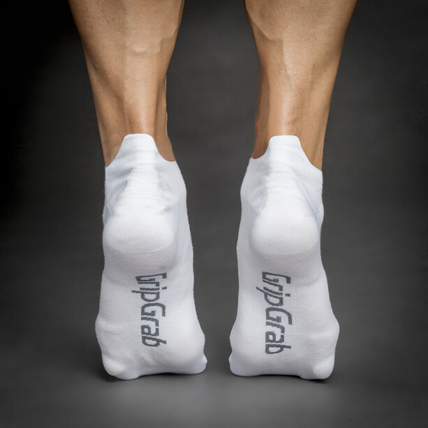 GripGrab Classic No Show Socks white
