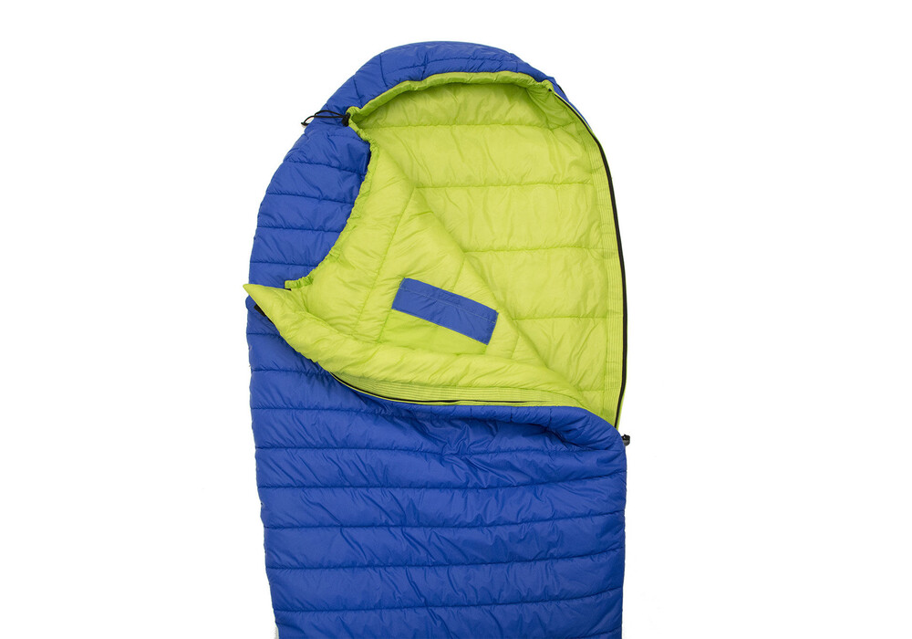 Carinthia g 180 sleeping bag l blue lime for Lime and blue