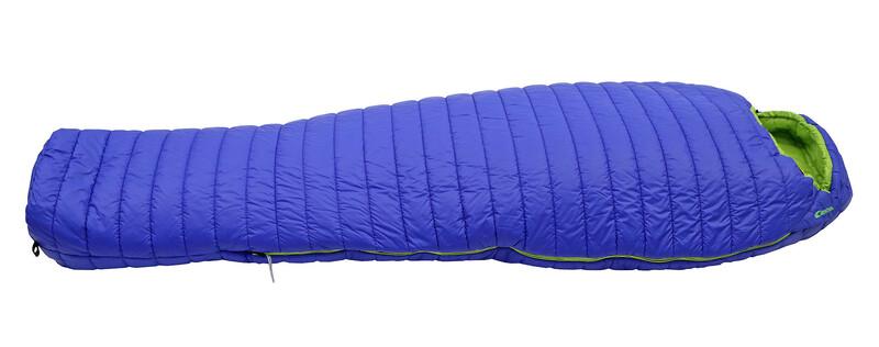 Carinthia G 180 Schlafsack L blue/lime Mumienschlafsäcke Reißverschluss links SS 95051