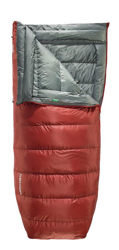 Dorado HD Sleeping Bag Large rust links 2017 Daunenschlafsäcke