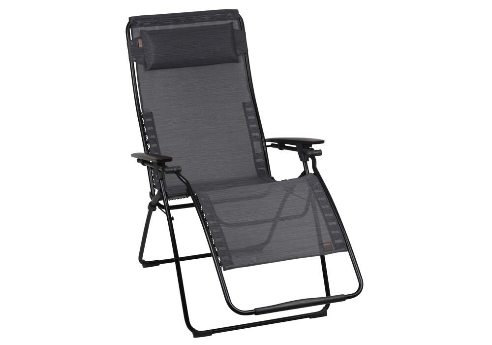 Lafuma mobilier futura xl camping zitmeubel duo batyline zwart l voordelig bij outdoor shop - Mobilier afneembaar ...