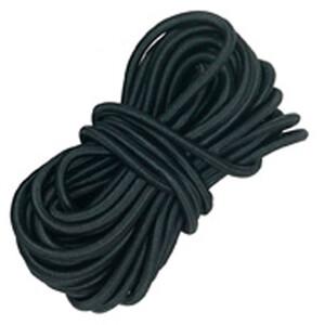 Lafuma Mobilier Rubber Lacing 8m for RSXA + Siesta, zwart zwart