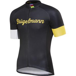 Brügelmann Bioracer Classic Race Trikot Herren schwarz/gelb schwarz/gelb