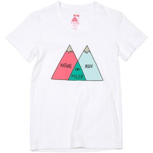 POLER Venn Camiseta Mujer, blanco blanco