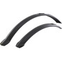 "Hebie 0759E Mudguard Set 24/26"" black"