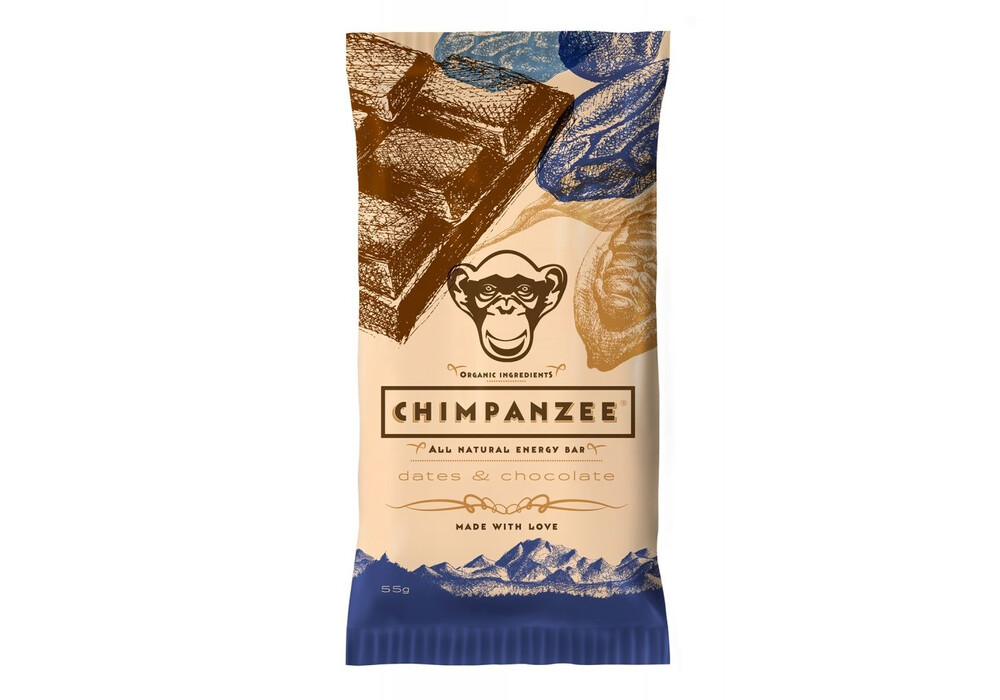 chimpanzee energy bar vegan datteln schokolade 55g. Black Bedroom Furniture Sets. Home Design Ideas