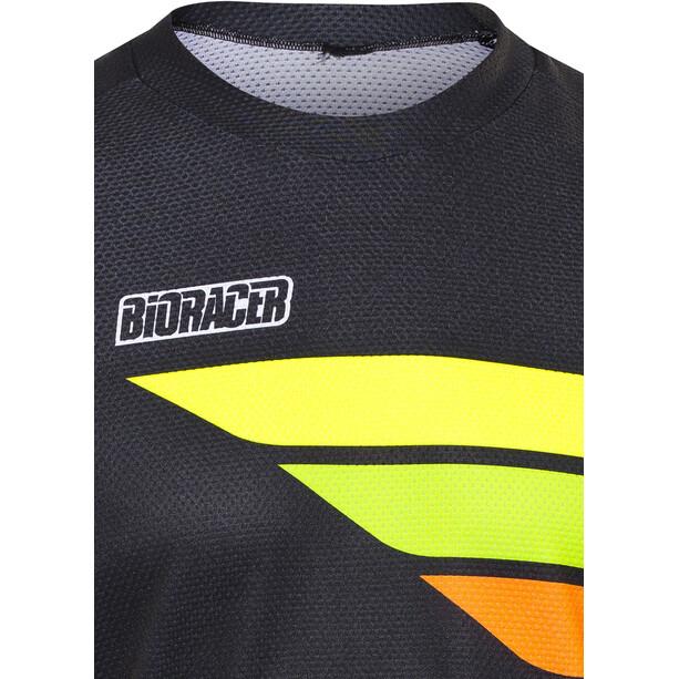 Bioracer Enduro Kortärmad cykeltröja Herr black-fluo yellow