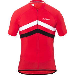 De Marchi Superleggera Fietsshirt korte mouwen Heren, rood rood