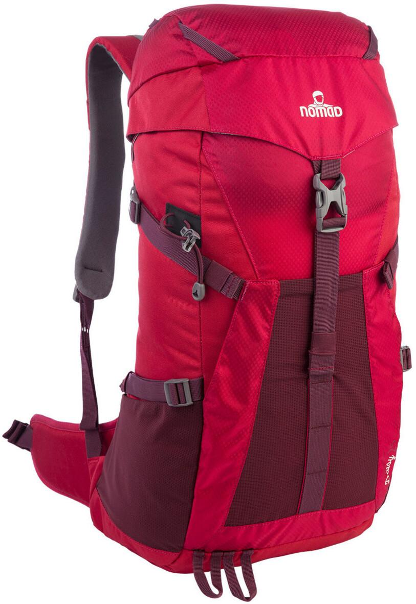 nomad daisy 25 sac dos femme rouge sur. Black Bedroom Furniture Sets. Home Design Ideas