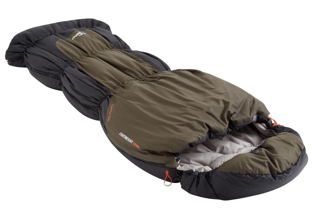 nomad triple s junior sac de couchage enfant olive. Black Bedroom Furniture Sets. Home Design Ideas