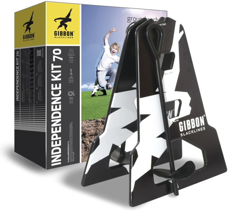GIBBON Independence Kit 70 Slackline  2017 Slakkline sett
