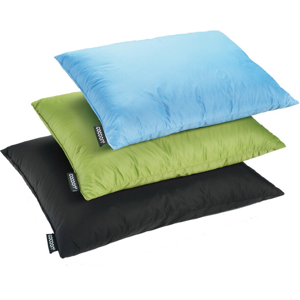 Cocoon Travel Pillow Down Fill 29x38cm grün