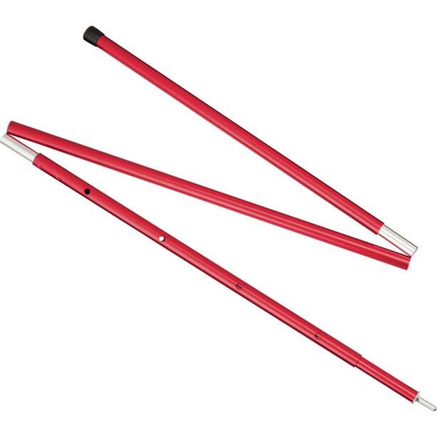 MSR Adjustable Pole 4 FT 119-140cm red