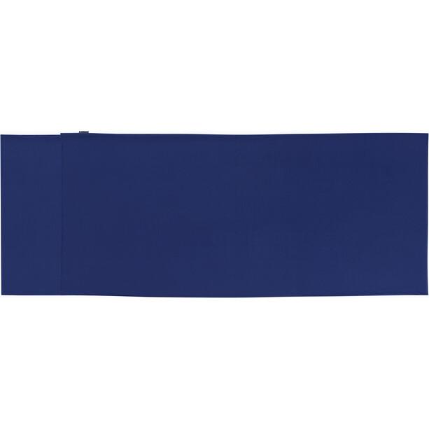 Sea to Summit Silk/Cotton Travel Liner Traveller mit Kopfkissen-Einschubfach navy blue