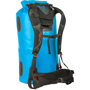 Sea to Summit Hydraulic Dry Pack with Harness 120l, azul azul