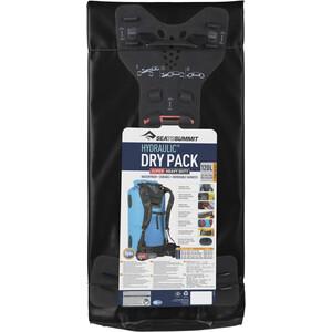 Sea to Summit Hydraulic Dry Pack mit Gurten 120l schwarz schwarz