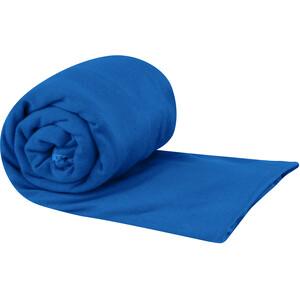 Sea to Summit Pocket Handtuch M blau blau