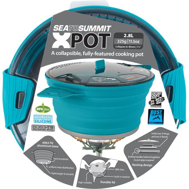 Sea to Summit X-Pot 2,8l pacific blue