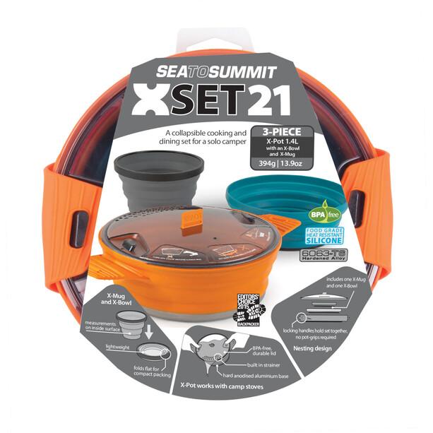 Sea to Summit X-Set 21