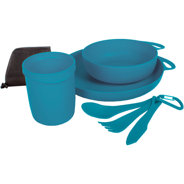 Sea to Summit Delta Camping Set pacific blue