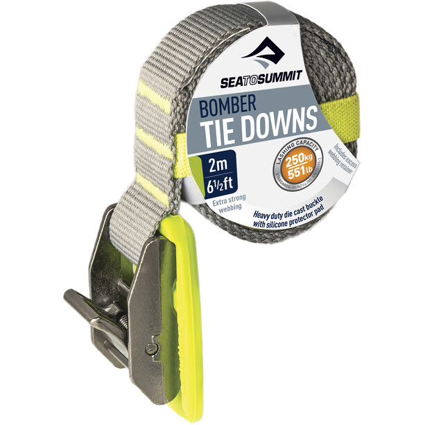Sea to Summit Bomber Tie Down 2,0m lime