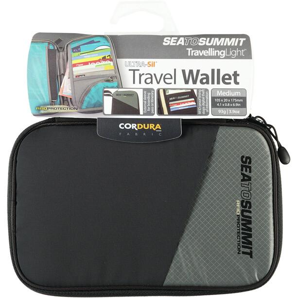 Sea to Summit Travel Brieftasche RFID Medium black