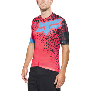 Fox Ascent Comp Kurzarm Trikot Herren neo red neo red