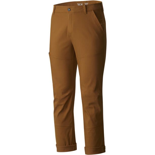 Mountain Hardwear Hardwear AP Pants Herr golden brown