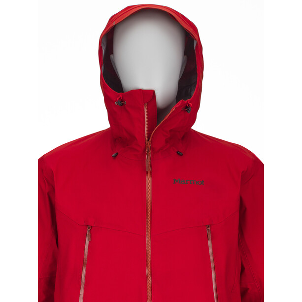 Marmot Red Star Jacket Herr team red