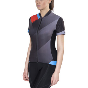 Cube Black Zero Jersey Lyhythihainen Naiset, black'n'flashred'n'blue black'n'flashred'n'blue