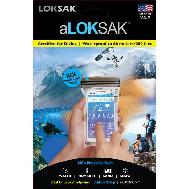 aLOKSAK iPhone 6+ Vattentätt fodral 2-pack