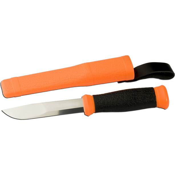 Morakniv Mora 2000 Knife for Hunting and Fishing orange/svart