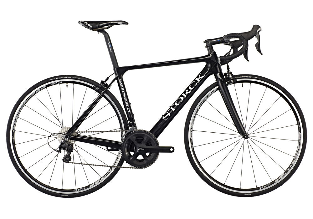 storck bicycle aernario comp road bike 105 black at. Black Bedroom Furniture Sets. Home Design Ideas