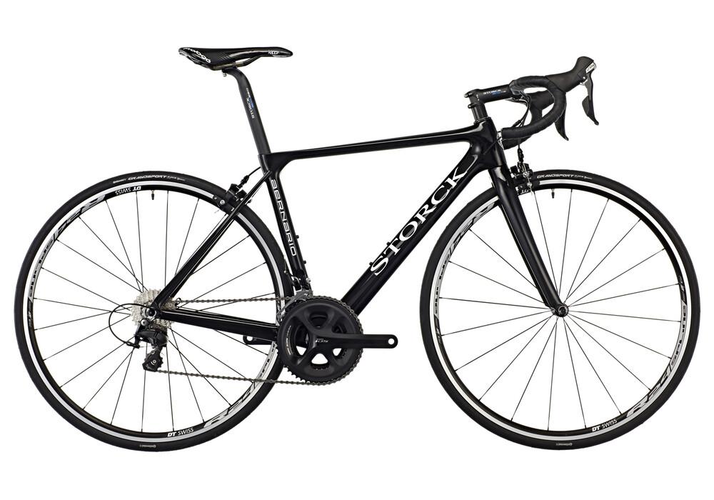 storck bicycle aernario comp road bike 105 black at. Black Bedroom Furniture Sets. Home Design Ideas