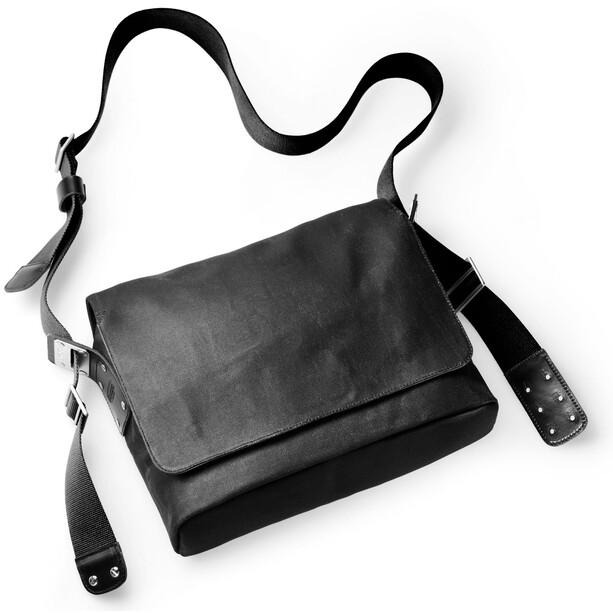 Brooks Paddington Shoulder Bag total black